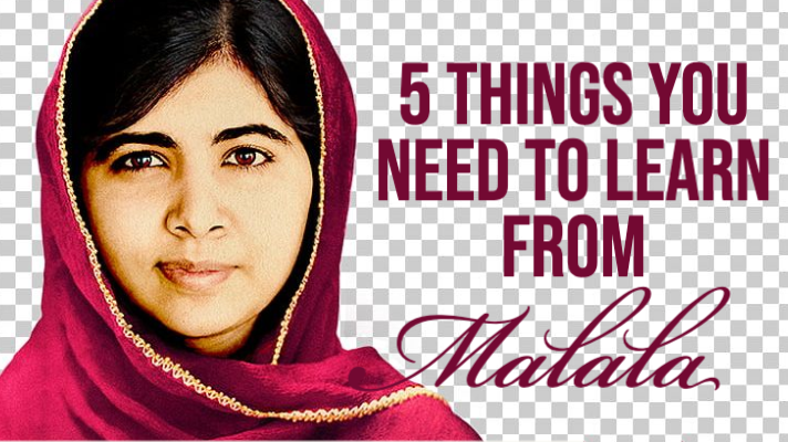 5 THINGS YOU NEED TO LEARN FROM MALALA