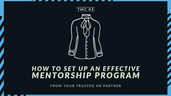How to set up an effective mentorship program