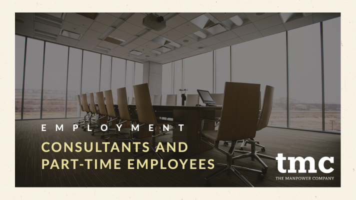 CONSULTANTS AND PART-TIME EMPLOYEES